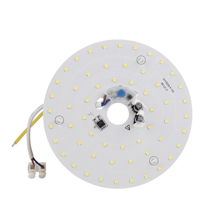 round Led light engine module 15w for ac linear